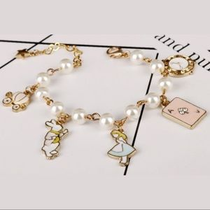 Disney Alice in Wonderland Charm Bracelet